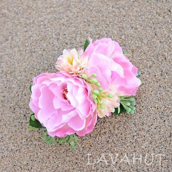 Precious Hawaiian Flower Hair Clip
