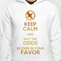 Keep Calm - The Hunger Games Poster 01 Hoody by Misery | Society6
