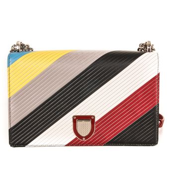 Dior Multi-Colored Leather Purse