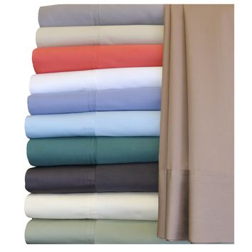 California King TAUPE Hybrid Bamboo Collection Sheet Sets, Bamboo Cotton Blend