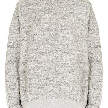 TALL Brushed Batwing Sweatshirt - Tall - Clothing