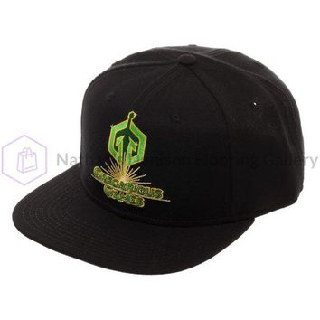 Ready Player One Gregarious Games Snapback, Black Acrylic Wool Ballcap Dad Hat, OASIS Gamer Gift