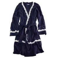 Aerie Lace Trim Robe