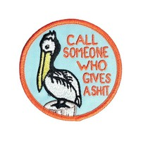 Who Gives A Shit Pelican Patch