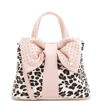 Betsey Johnson Bow Tie Convertible Shopper Tote | Dillards.com
