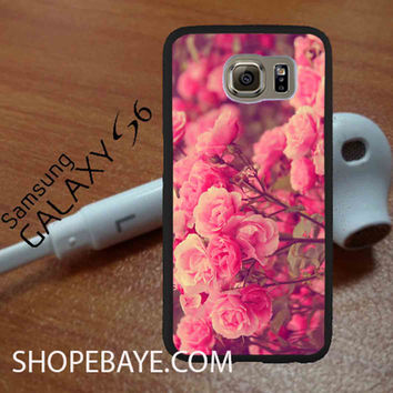 Cute Stylish Pink Roses For galaxy S6, Iphone 4/4s, iPhone 5/5s, iPhone 5C, iphone 6/6 plus, ipad,ipod,galaxy case