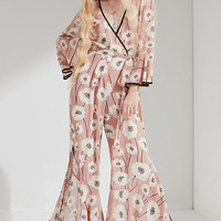 Lucca Couture Anastasia Wrap Jumpsuit | Urban Outfitters