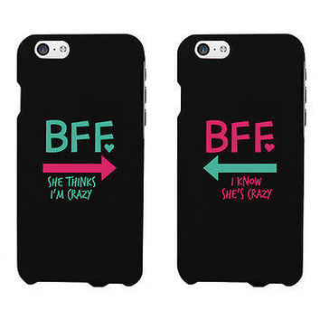 BFF Mint Pink Arrow Cute BFF Mathing Phone Cases For Best Friends