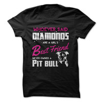 Pit Bulls Are A Girl's Best Friend