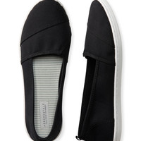 Solid Canvas Slip-On Shoe