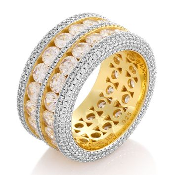 The Complex Eternity Ring (.925 Sterling Silver)