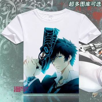Psycho-Pass Short Sleeve Anime T-Shirt V3