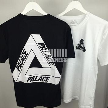 ESBONHC PALACE T Shirt Men Women 1:1 High Quality 100% Cotton Kanye West PALACE Skateboards Hip Hop Yeezy Thrasher Justin Bieber Top Tee