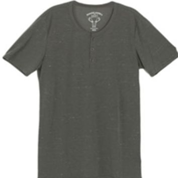 1897 Space Dye Henley T-Shirt for Men KST3946M-GK