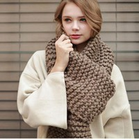 Knit Couple Scarf [110449295385]