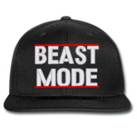 BEAST MODE beanie or SNAPBACK hat