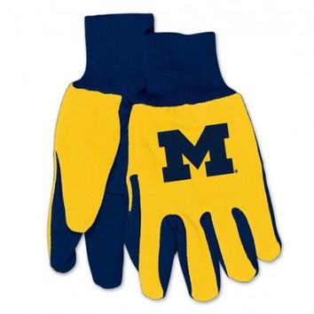 Michigan Wolverines - Adult Two-Tone Sport Utility Gloves
