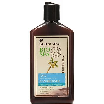 Bio Spa Professional Conditioner For Dry Damaged  Colored Hair With Argan Oil And Shea Butter