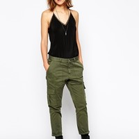 Zadig & Voltaire Pants in Military Style with Pockets