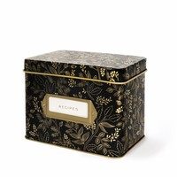 Queen Anne Recipe Box and Cards