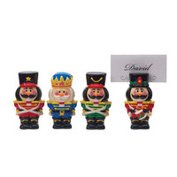 Boston Warehouse: Nutcracker Place Card Holder Set, at 33% off!