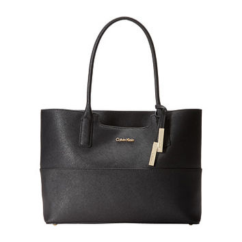 Calvin Klein Key Item Tote H3GB11NB Black | HandBags