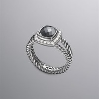 David Yurman | Women's Test Celeb | Petite Albion Cushion RIng, Hematite