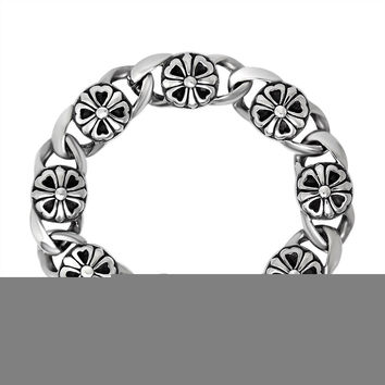 Great Deal Gift Awesome Shiny Hot Sale New Arrival Stylish High Quality Classics Titanium Vintage Ladies Strong Character Accessory Bracelet [6542640451]