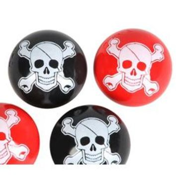 27mm Pirate Hi-Bounce Balls {superball, bouncy balls }