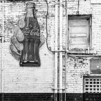 Vintage Coca Cola Sign in a Downtown Nashville Alley (RQ0A4945)