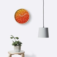 'Fish Roe' Clock by Kerry-Symetria