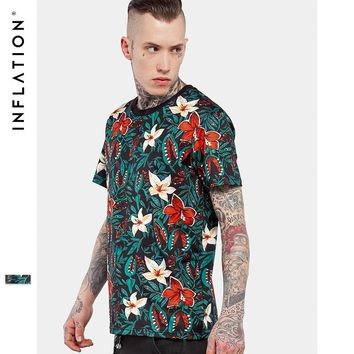 HCXX INFLATION Floral Beauty Tees