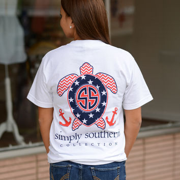 Simply Southern USA Turtle Tee