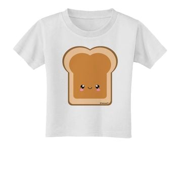 Cute Matching Design - PB and J - Peanut Butter Toddler T-Shirt by TooLoud