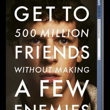 The Social Network 11x17 Movie Poster (2010)