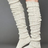 Free People Free People Speckled Slouch Tall Sock
