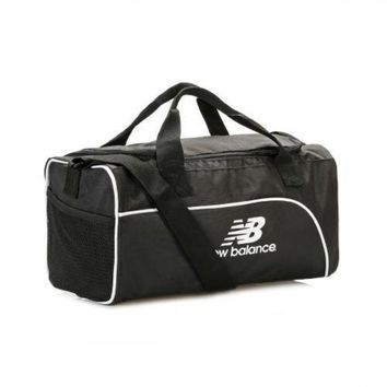 ICIK1IN new balance black training day small duffel bag