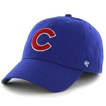 Chicago Cubs '47 Franchise Fitted Game Cap by '47 Brand