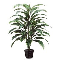 """Artificial Potted Cordyline Palm Floor House Plant - 40"""" Tall"""