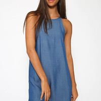 Unfettered Dress - Dark Blue