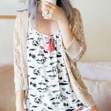 Giddy Morning, Sleepyhead Pajamas in Flamingos | Mod Retro Vintage Underwear | ModCloth.com