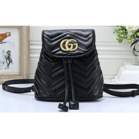 GUCCI Fashion Hot Selling Lady's Chequered Backpack