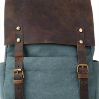 Retro European Style Leisure Canvas Backpack from styleonline