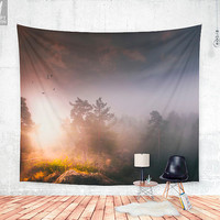 Cleansing Wall tapestry