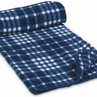 Petmate 29 inch x 40 inch Polar Fleece Pet Blanket 27418, Colors May Vary (Pack of 1)