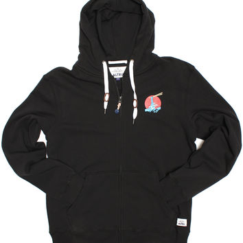 Altru Apparel Delicious Ramen Terry Zip-Up Hoodie (Out of Smalls)
