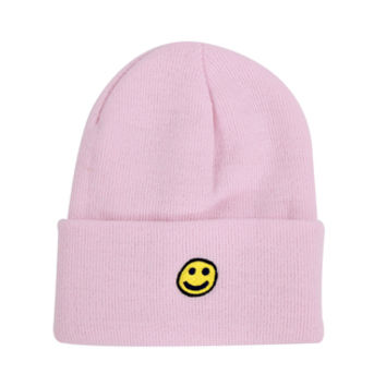 HAPPY GOLF BEANIE PINK