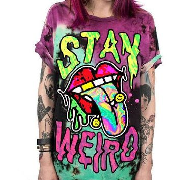 Unisex Psychedelic Day- Glo T-Shirts - 10 Styles