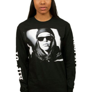 RIP-01 AALIYAH Long Sleeve in Black