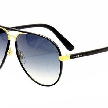 Gucci Women's Men's GUCCI  Sunglasses Grey&Black